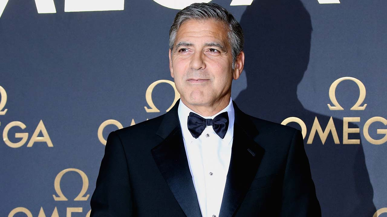Increasingly Blurry Pictures Of George Clooney To Help You Get Used To The Idea That He's Not Always Going To Be Around Oxvgibjo7btqoh3pdavt
