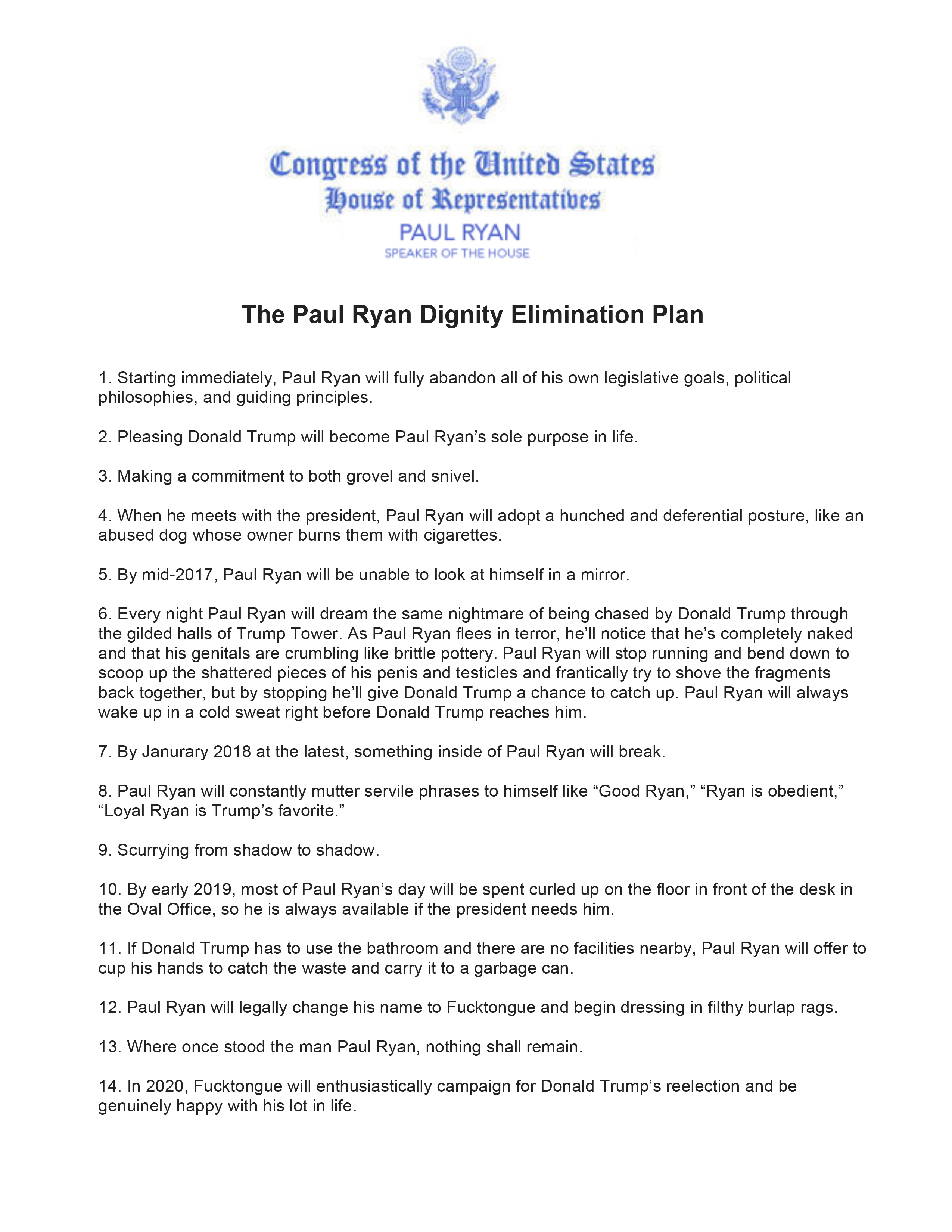 Policy Guy: Paul Ryan Just Put Out A Comprehensive 14 ...