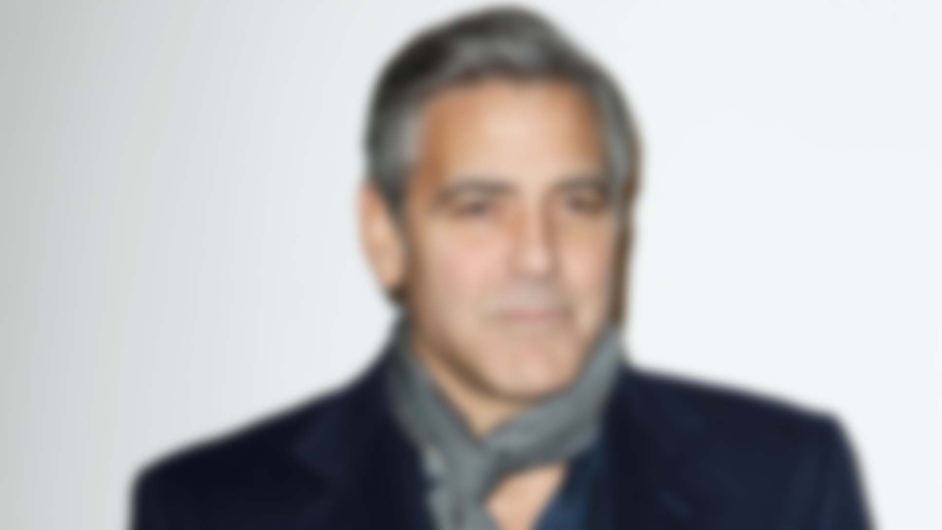 Increasingly Blurry Pictures Of George Clooney To Help You Get Used To The Idea That He's Not Always Going To Be Around Zcfh8o35p5yr7zazejlp